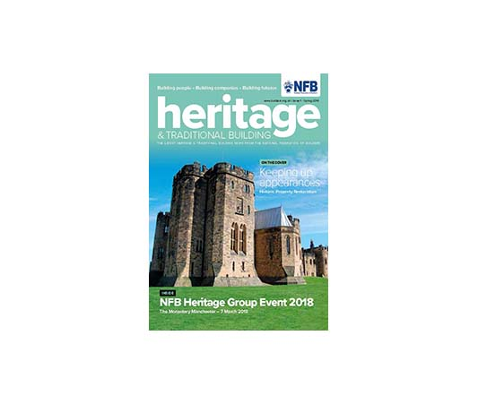 Heritage & Traditional Building magazine