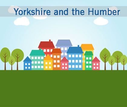 A quarter of Yorkshire and the Humber councils are failing to tackle the housing crisis