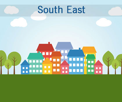40% of local authorities in the south east are failing to meet housing needs