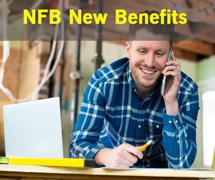 NFB delighted to launch new member benefits